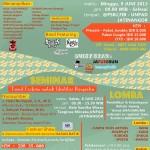 """Hima Sastra Jepang (HIMADE S1) Unpad mempersembahkan: """"Festival Budaya dan Pendidikan (FESBUKAN) 2013"""