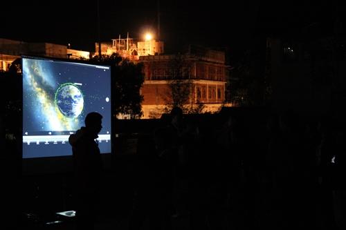 Malam Umum OSN Astronomi XII Meriahkan ITB Jatinangor