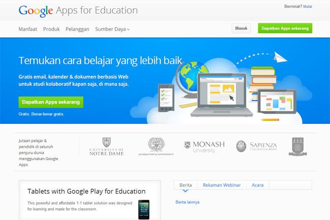 Unpad Sediakan Fasilitas Google Apps for Education untuk Civitas Unpad