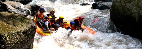 Arung Jeram, Susur Sungai Pemicu Adrenalin