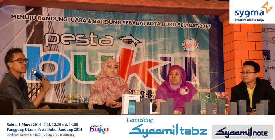 Launching Gadget Islami Syaamil Tabz dan Syaamil Note