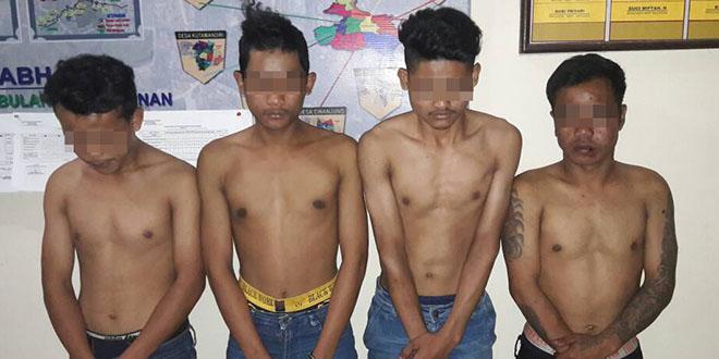 Anggota Reskrim Polsek Tanjungsari amankan 6 orang pelaku pengeroyokan