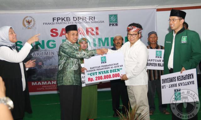 Muhaimin Iskandar Akan Bangun Pondok Pesantren Cut Nyak Dien di Sumedang