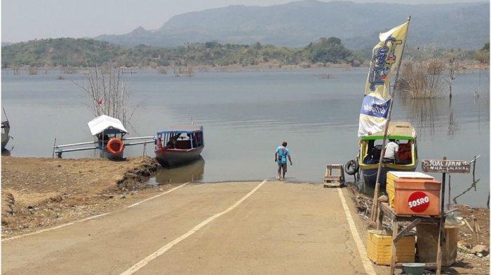 Waduk Jatigede Kering, Jalan Kabupaten Kembali Terlihat