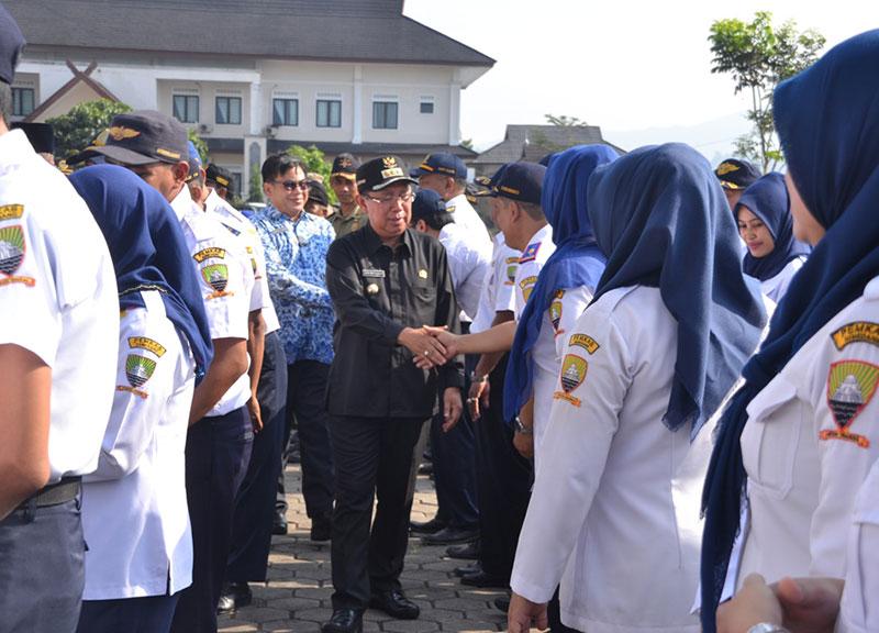 Bupati Sumedang Perintahkan Dishub Atasi Kemacetan di Tanjungsari-Jatinangor