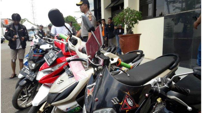 Polres Sumedang Amankan Anggota Sindikat Curanmor yang Beraksi di Jatinangor