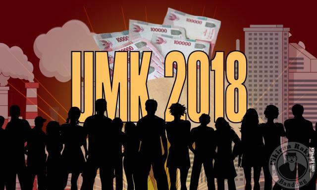 UMK Sumedang 2018 Diperkirakan Rp 2,6 Juta