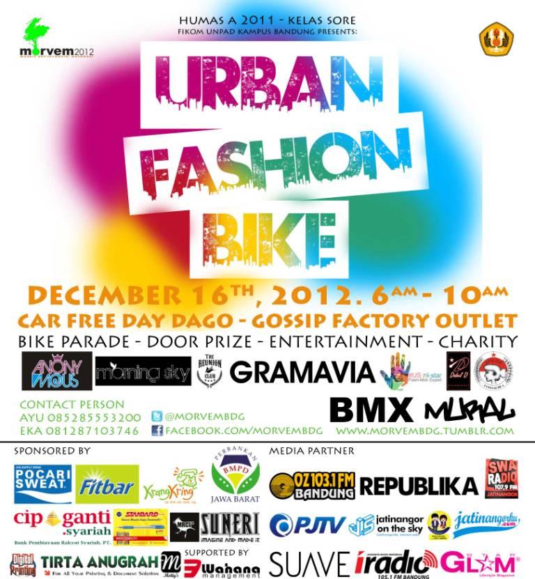 Morvem Urban Fashion Bike Jatinangor Online Media