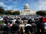 Muslims Hold Day Of Prayer On Capitol Hill