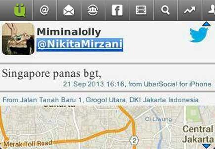 Nikita Mirzani di Bully Ngaku di Singapura Padahal di Grogol