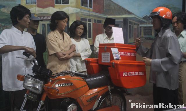 Museum Pos Indonesia Mencatat Masa Emas Zaman Surat