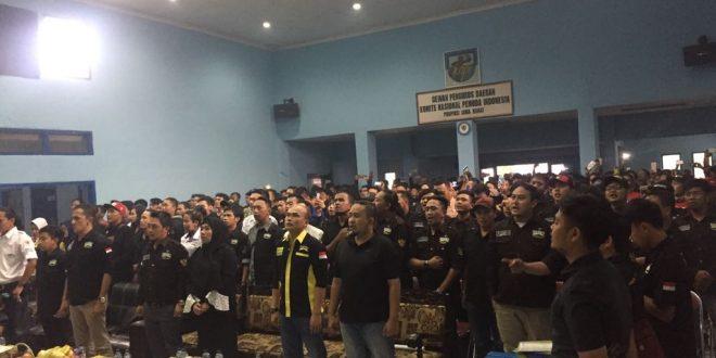 Ribuan Anggota Hadiri Pengukuhan Brigez DPW Kota Bandung