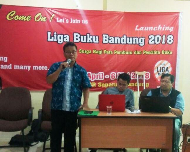 Liga Buku Bandung Bakal Jadi Surga Pecinta Buku