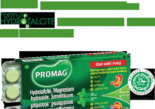 Promag Tablet - Solusi Sakit Maag