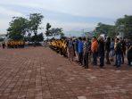 Sambut Hari Pers Nasional ke-73, Forkpoimda Kab. Sumedang Gelar Senam Sehat