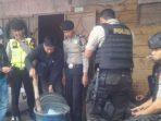 Razia Warung di Jatinangor, Polisi Sita Satu Drum Tuak