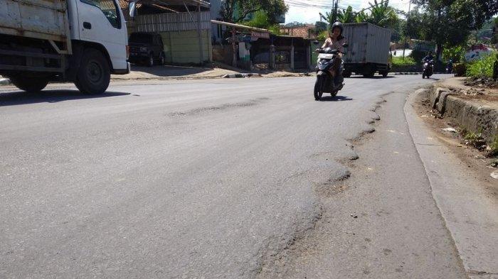Saat Mudik Lebaran, Hati-hati Melintas di Jalan Bergelombang di Jatinangor, Sering Ada Kecelakaan