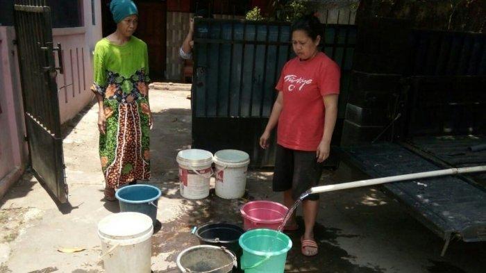 Kekeringan, Warga Cikeruh Jatinangor Butuh Bantuan Air Bersih