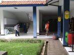 Sekolah-Sekolah di Jatinangor Mulai Disemprot Disinfektan