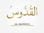 Makna dan Arti Asmaul Husna Al Quddus Allah Yang Mahasuci 3