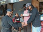 Peduli, Anggota Kompi 3 Yon A Por Brimob Jabar Imbau Masyarakat Konsisten Terapkan Prokes