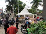 Sambangi Pangkalan Ojek Unpad Jatinangor, Brimob Polda Jabar Berikan Himbauan Pentingnya Protokol Kesehatan
