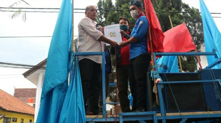 Buruh Tolak UU Cipta Kerja, DPRD Sumedanh Siap Kirim Rekomendasi ke Pemerintah Pusat