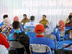 100 Anggota Aliansi Buruh Beraudiensi dengan Bupati Sumedang