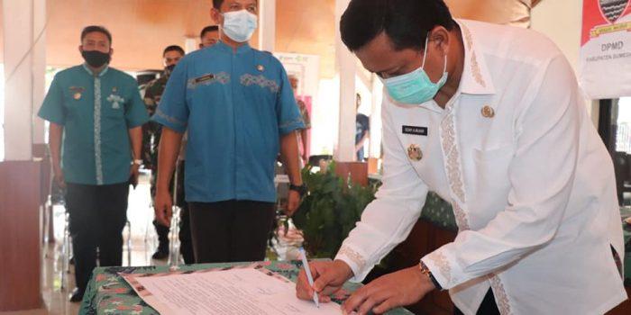 Deklarasi Damai Pilkades Serentak di Kabupaten Sumedang