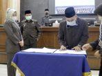 Paripurna DPRD Sahkan Riperda Kabupaten Sumedang Tahun 2021-2025