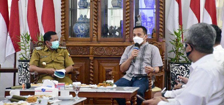 Terkait Tol Sisumdawu, Kemenko Maritim dan Investasi Kunker ke Pemkab Sumedang