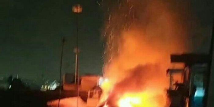 Diduga Tabung Gas Bocor, Sebuah Rumah di Jatinangor Sumedang Terbakar